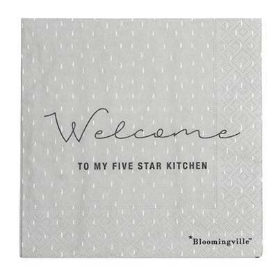 Bloomingville servietter gr five star kitchen for 5 star kitchen designs